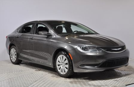 2016 Chrysler 200 LX LX Auto Bluetooth Camera/USB Cruise A/C #0