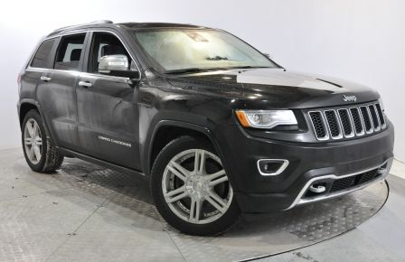 2014 Jeep Grand Cherokee Overland A/C MP3 CAM TOIT PANO & BLUETOOTH #0