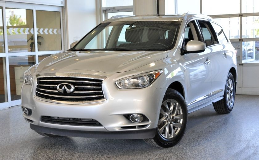 2015 Infiniti QX60 AWD Sunroof Cuir-Chauf Bluetooth Camera #0