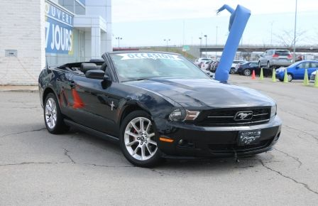 2010 Ford Mustang V6 CONVERTIBLE AUTO A/C GR ELECT MAGS #0