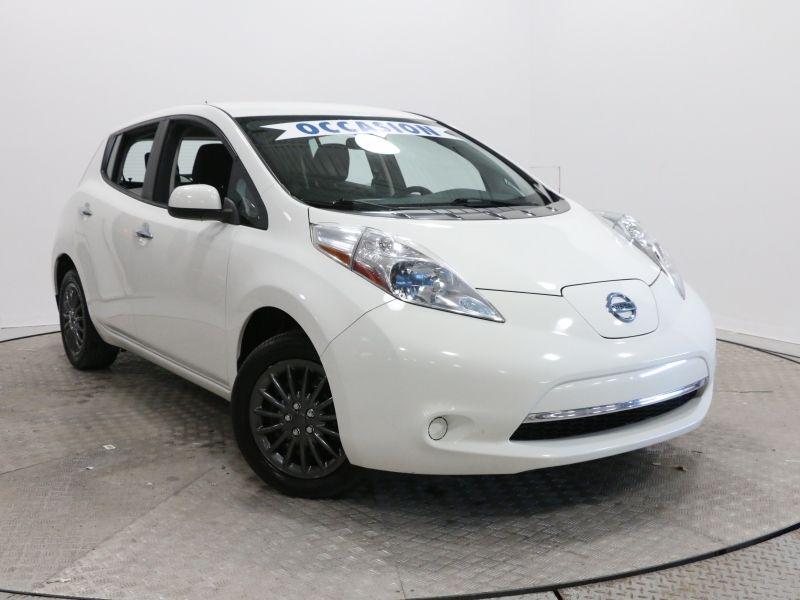 2014 Nissan  Leaf S, SIEGE CHAUFFANT, CAMÉRA RECUL, A/C, BLUETO