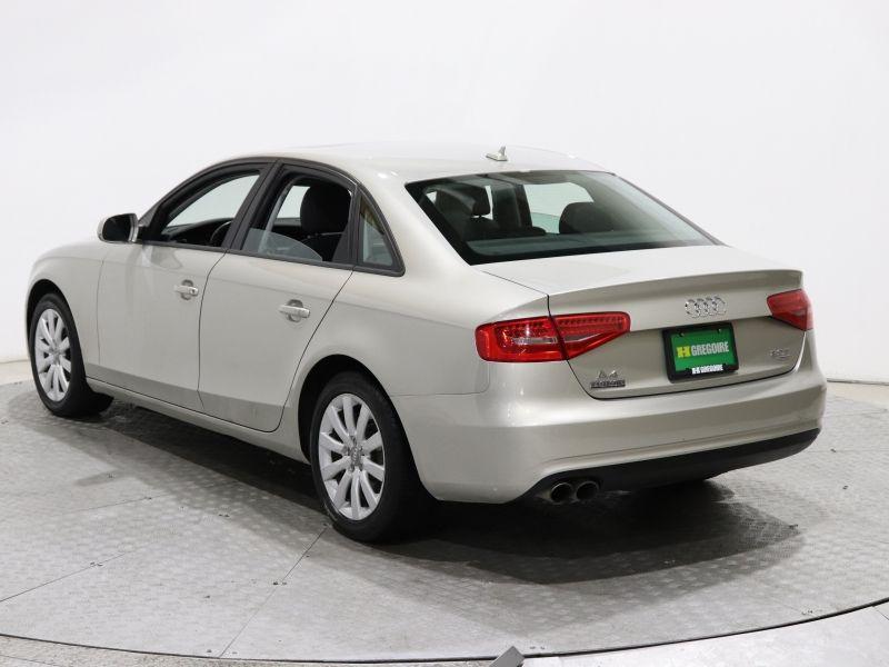Audi A4 4dr Sdn quattro AUTO GR ELECT TOIT OUVRANT MA 2013