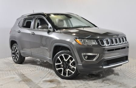 2017 Jeep Compass Limited 4X4 GPS Pano Cuir-Chauf Demarreur Bluetoot #0