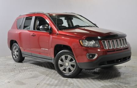 2014 Jeep Compass Sport  Auto 4X4 Cuir Toit Ouvrant A/C cruise #0