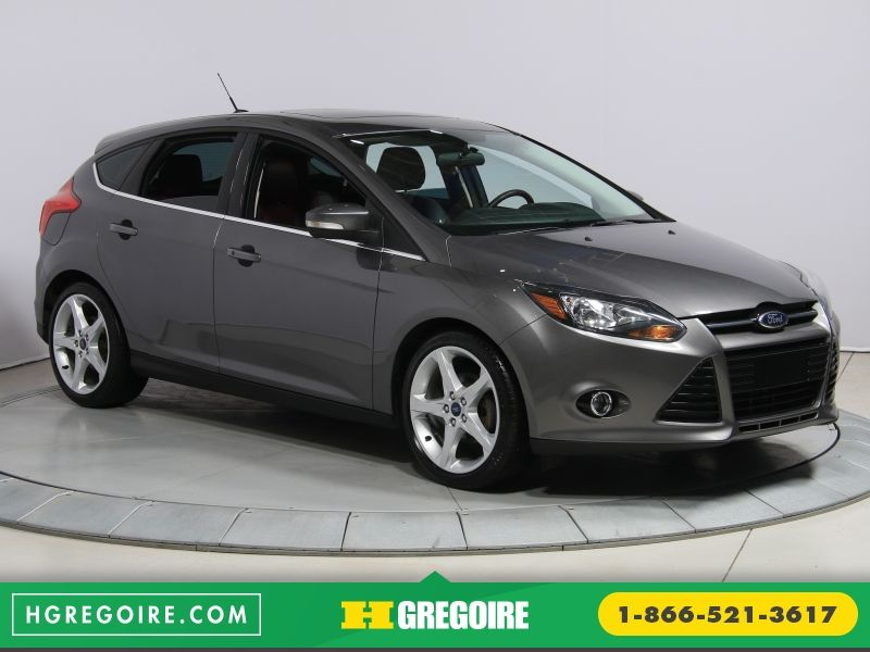 2013 ford focus titanium hatchback for sale in canada. Black Bedroom Furniture Sets. Home Design Ideas