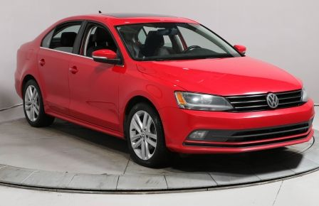 2015 Volkswagen Jetta HIGHLINE 1.8 T AUTO A/C CUIR TOIT MAGS #0
