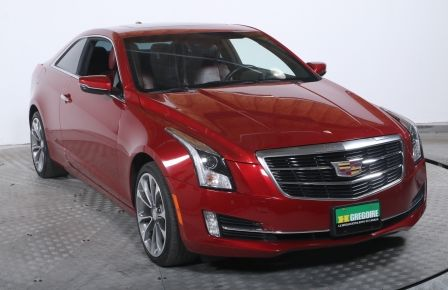 2015 Cadillac ATS COUPE LUXURY AWD CUIR ROUGE TOIT NAVI MAGS #0