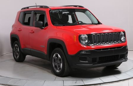 2016 Jeep Renegade Sport 4X4 A/C MAGS BLUETOOTH CAMERA RECUL #0