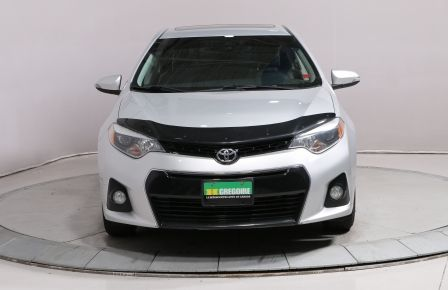 2014 Toyota Corolla S AUTO A/C BLUETOOTH CAM RECUL GR ELECTRIQUE #0