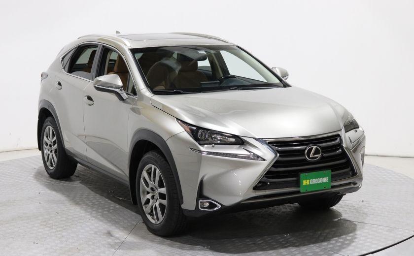 2016 Lexus Nx 200t Awd Auto Cuir Toit Ouvrant Camera Bluetooth 0