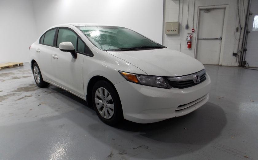 2012 Honda Civic LX Auto Bluetooth Cruise A/C USB #0