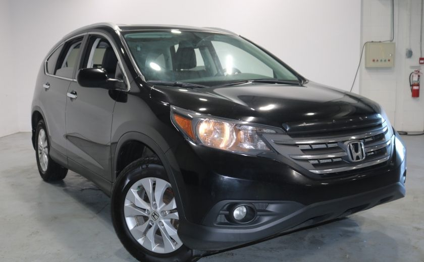 2014 Honda CRV TOURING AWD Cuir-Chauffant Sunroof Bluetooth Cam #0