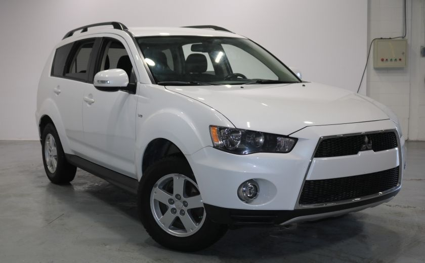 2013 Mitsubishi Outlander LS AWD V6 Sieges-Chauf Bluetooth 7PASSAGERS #0