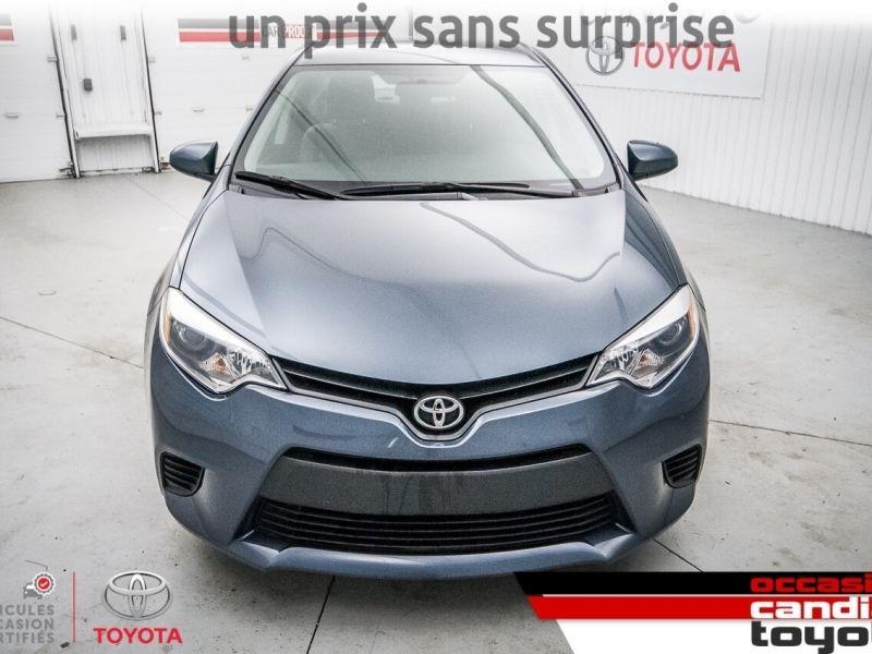 2016 Toyota  Corolla CE * manuel *