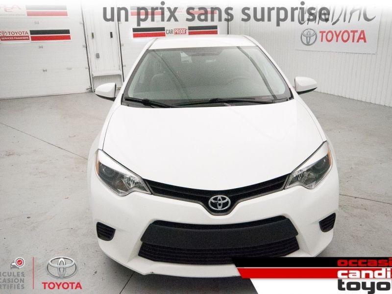 2015 Toyota  Corolla CE * auto * ac *