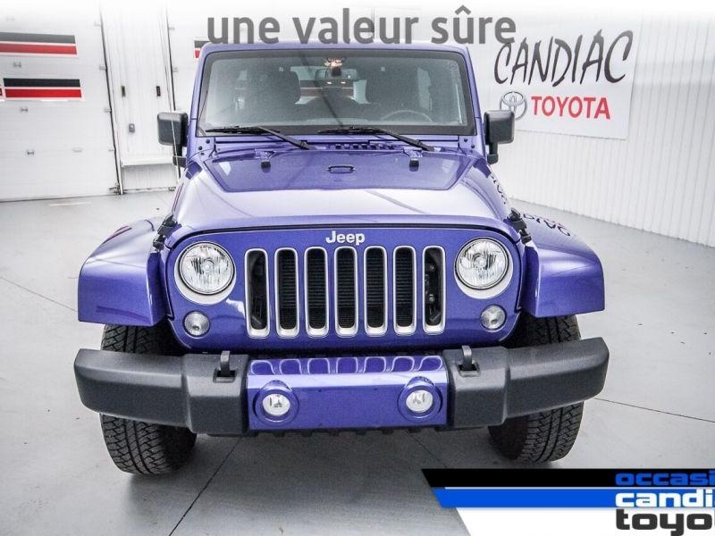Jeep Wrangler Sahara * AWD *  2018
