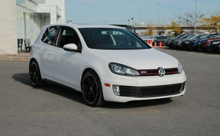 2012 Volkswagen Golf GTI Sunroof Bluetooth Heated-Seats MP3 #0