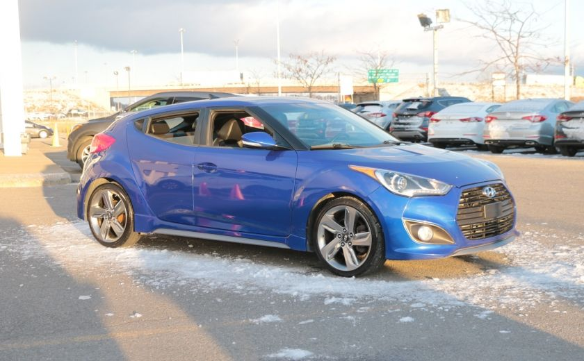 2013 Hyundai Veloster Turbo GPS Cuir Panoramique Bluetooth USB*MP3 #0