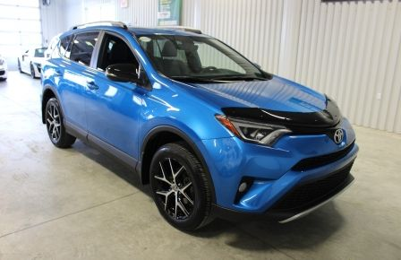 2016 Toyota Rav 4 SE Awd Cuir-Toit Ouvrant-Navigation-Cam-Bluetooth #0