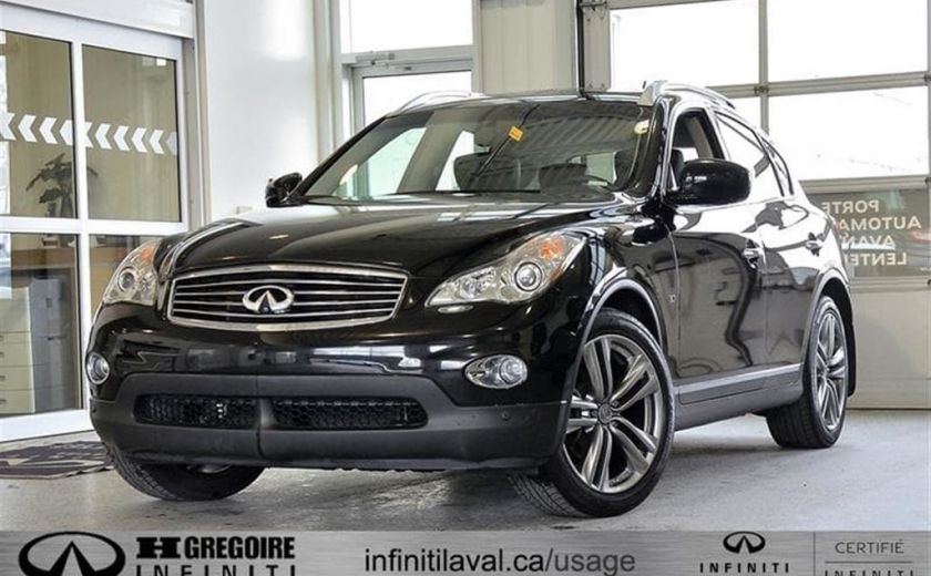 2014 Infiniti QX50 Journey AWD Cuir-Chauf Bluetooth Camera #0