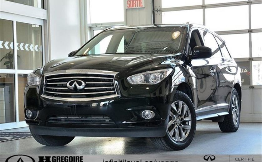 2014 Infiniti QX60 Sunroof Cuir-Chauffant Bluetooth Camera MP3 #0