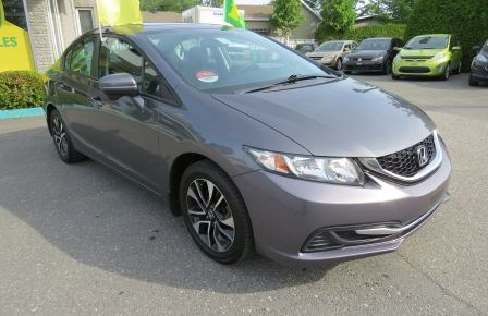 2014 Honda Civic EX AUT A/C MAGS TOIT CAMERA BLUETOOTH GR ELECTRIQU #0